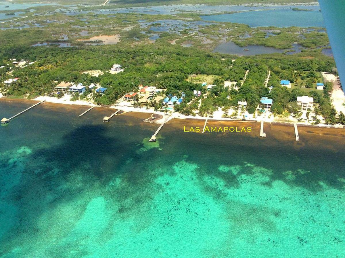 Las Amapolas Aerial View